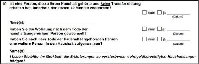 Wohngeldantrag ausfüllen + Anleitung   bis zu 190 Euro pro Person?! 13