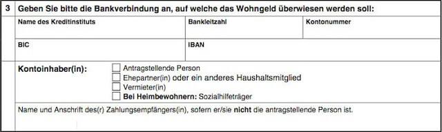 Wohngeldantrag ausfüllen + Anleitung   bis zu 190 Euro pro Person?! 3