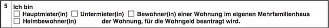 Wohngeldantrag ausfüllen + Anleitung   bis zu 190 Euro pro Person?! 5