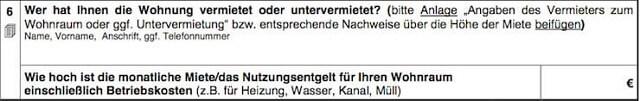 Wohngeldantrag ausfüllen + Anleitung   bis zu 190 Euro pro Person?! 7